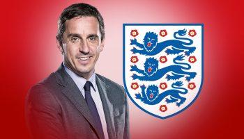 Gary Neville ออกจากยูโร 2020 ของอังกฤษ
